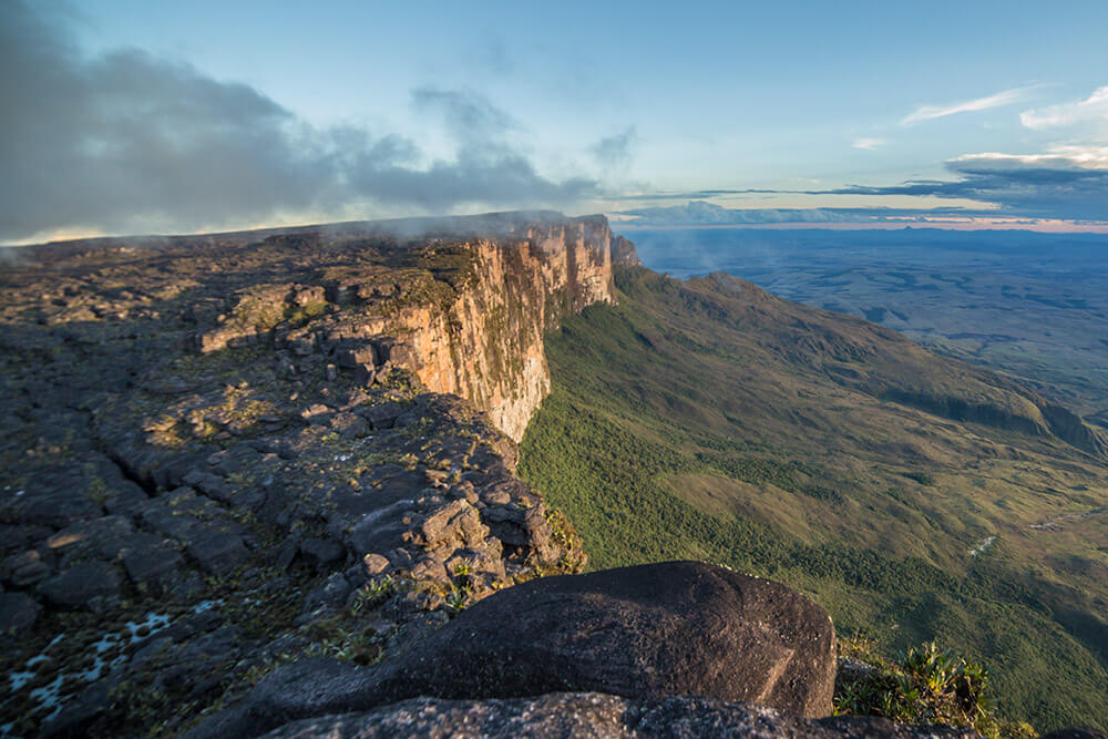 View on Mount Roraima, Venezuela